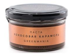 Паста кокосовая карамель GreenMania (150 г)